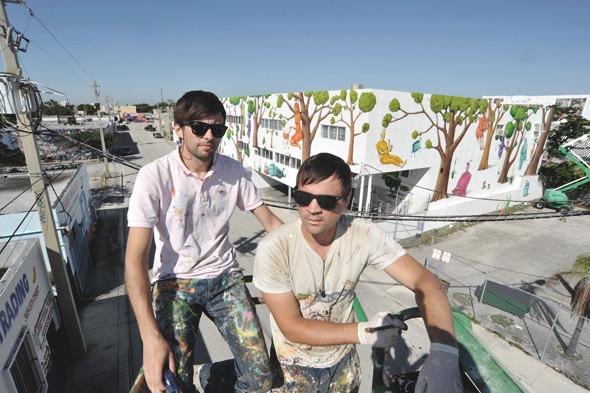 Скетчбук: Участники граффити-дуэта из Киева Interesni Kazki рассказывают о своих лучших работах. Изображение № 2.