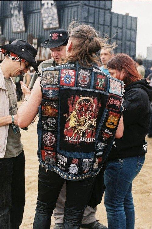 Battle Jackets: Tumblr-блог, посвящённый жилетам с нашивками. Изображение № 6.