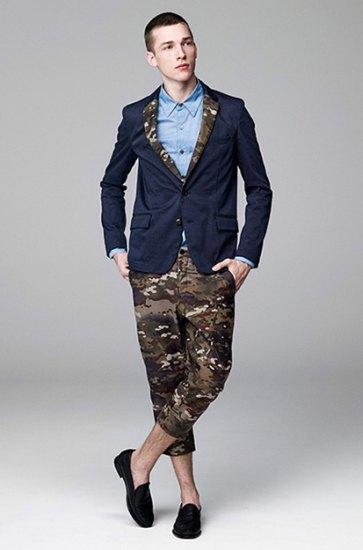 Японская марка Attachment выпустила лукбук весенней коллекции одежды. Изображение № 3.