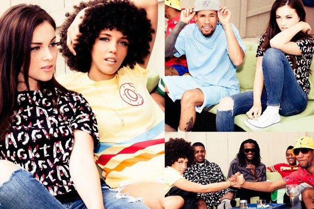 Хип-хоп-группировка Odd Future опубликовала новый лукбук своей марки. Изображение № 2.
