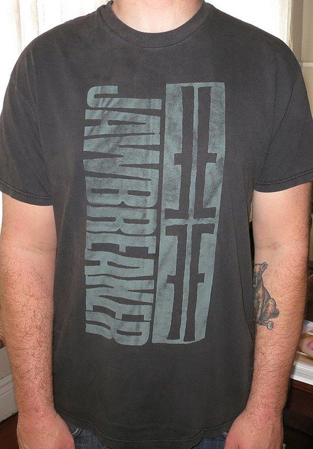 Minor Thread: Тысячедневный марафон футболок с логотипами музыкантов. Изображение № 27.