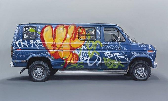 Кевин Сир: Граффити на фургонах как символ города. Изображение № 18.