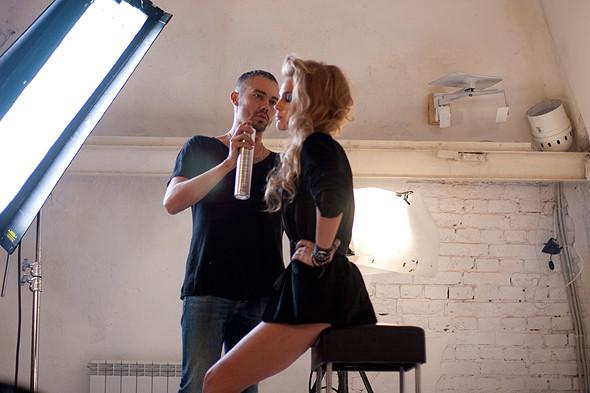 Дом моды: Репортаж со съемок видео модельного агентства. Изображение № 9.