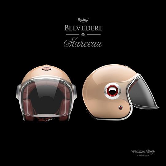 Коллекция мотоциклетных шлемов марки Les Ateliers Ruby. Изображение № 4.