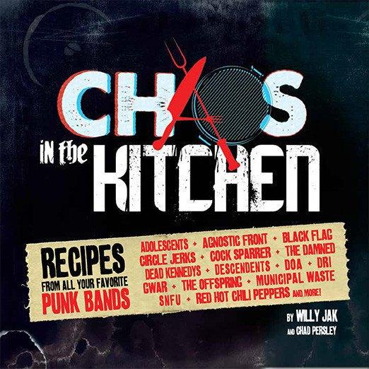 В США вышла поваренная книга с рецептами панк-рок-музыкантов. Изображение № 1.