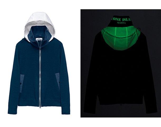 Марка Stone Island выпустила новую коллекцию одежды, светящейся в темноте. Изображение № 3.