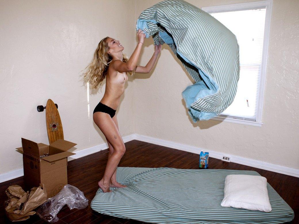 Голливудский фотограф Брэд Элтерман сфотографировал модель Лейлу Шпильман для журнала Purple. Изображение № 2.