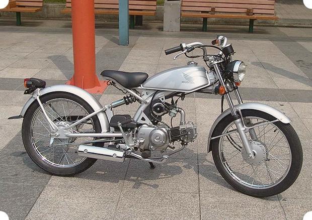 Начни с малого: 11 мотоциклов-малолитражек, для вождения которых не нужны права. Изображение № 2.