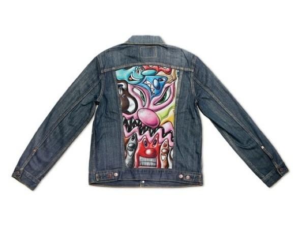 Изображение 1. Вышла коллекция джинсовых курток Levis x MoCA.. Изображение № 2.