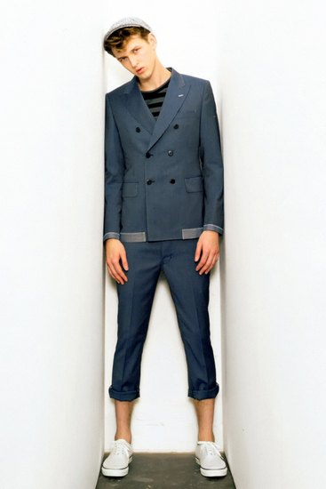 Марка Junya Watanabe Comme des Garcons Man опубликовала лукбук своей весенней коллекции. Изображение № 5.
