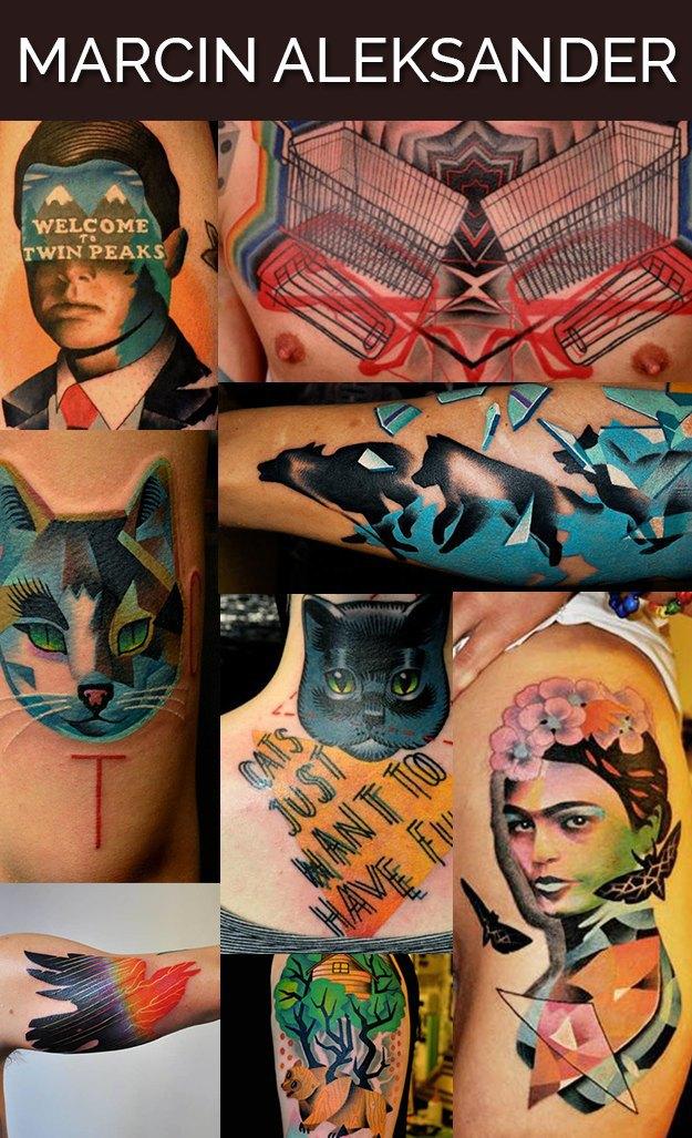 Buzzfeed составил список лучших тату-мастеров мира. Изображение № 7.