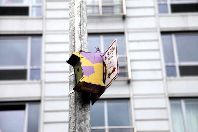 Уличные скульптуры, созданные неизвестными. Изображение № 14.