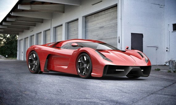 Представлен новый концепт суперкара на базе Ferrari 458 Italia. Изображение № 15.