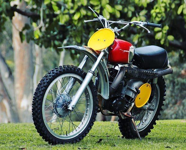 Мотоцикл Стива МакКуина выставили на аукцион. Изображение № 2.