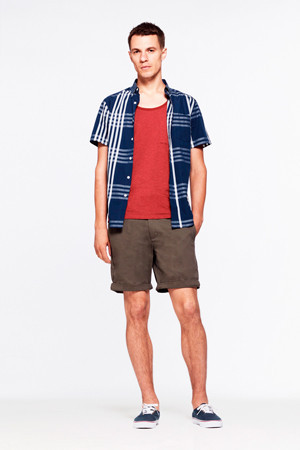 Saturdays Surf NYC выпустили лукбук весенней коллекции одежды. Изображение № 18.