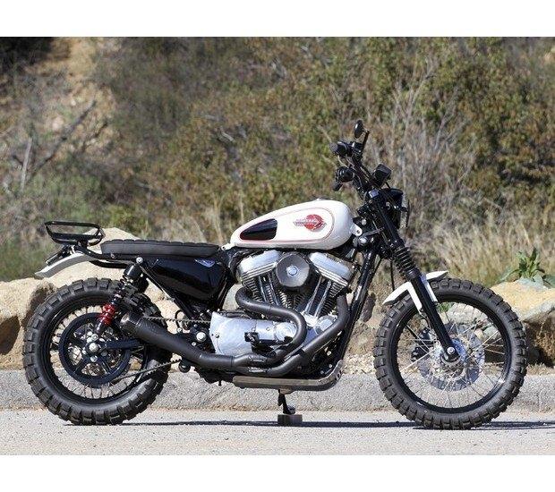 Мастерская Burly Brand представила скрэмблер на основе Harley-Davidson Sportster. Изображение № 4.