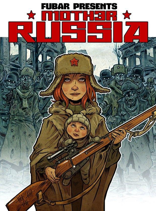 На Kickstarter собрали деньги для зомби-комикса про Сталинград . Изображение № 1.