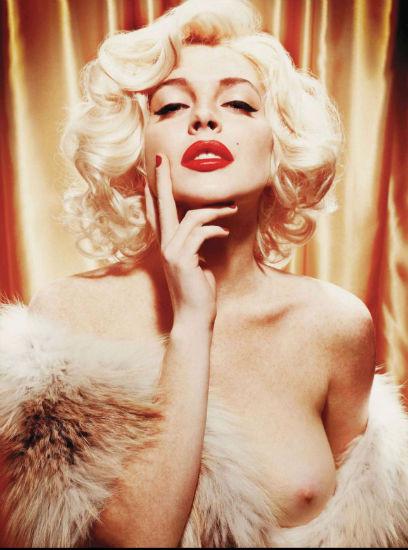 Актриса Линдси Лохан снялась для журнала Playboy. Изображение № 2.