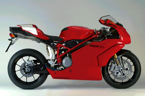 Новый супербайк Ducati Panigale и история его предшественников. Изображение № 9.