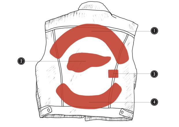 Шить по совести: Красочный путеводитель по мотоциклетным нашивкам. Изображение № 14.