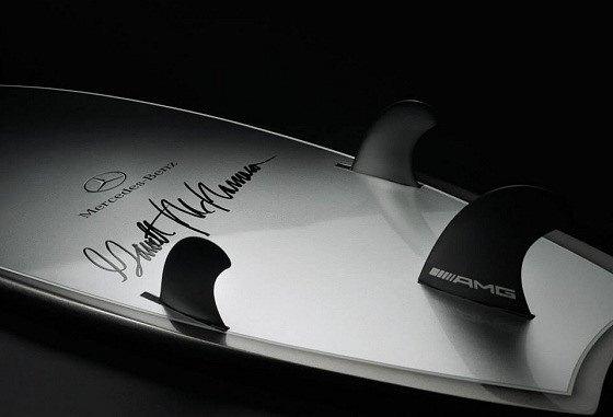Mercedes-Benz и Гарретт Макнамара представили совместную серию досок для сёрфинга. Изображение № 2.