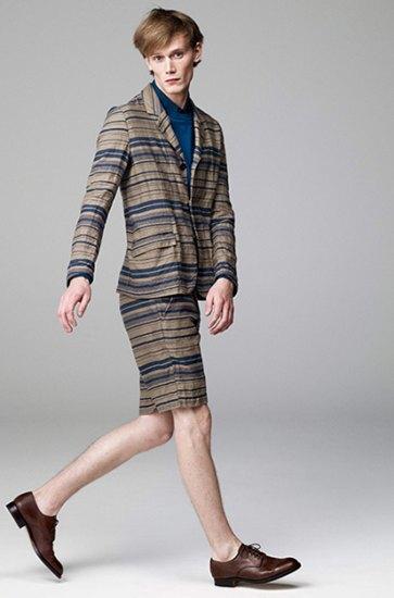 Японская марка Attachment выпустила лукбук весенней коллекции одежды. Изображение № 11.