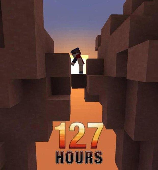 Режим «Творчество»: 25 кинопостеров, выполненных в стиле Minecraft. Изображение № 17.