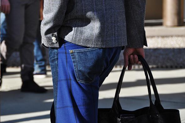 Изображение 11. Шарфы, клатчи, клетчатые пиджаки и подвернутые джинсы.. Изображение № 11.