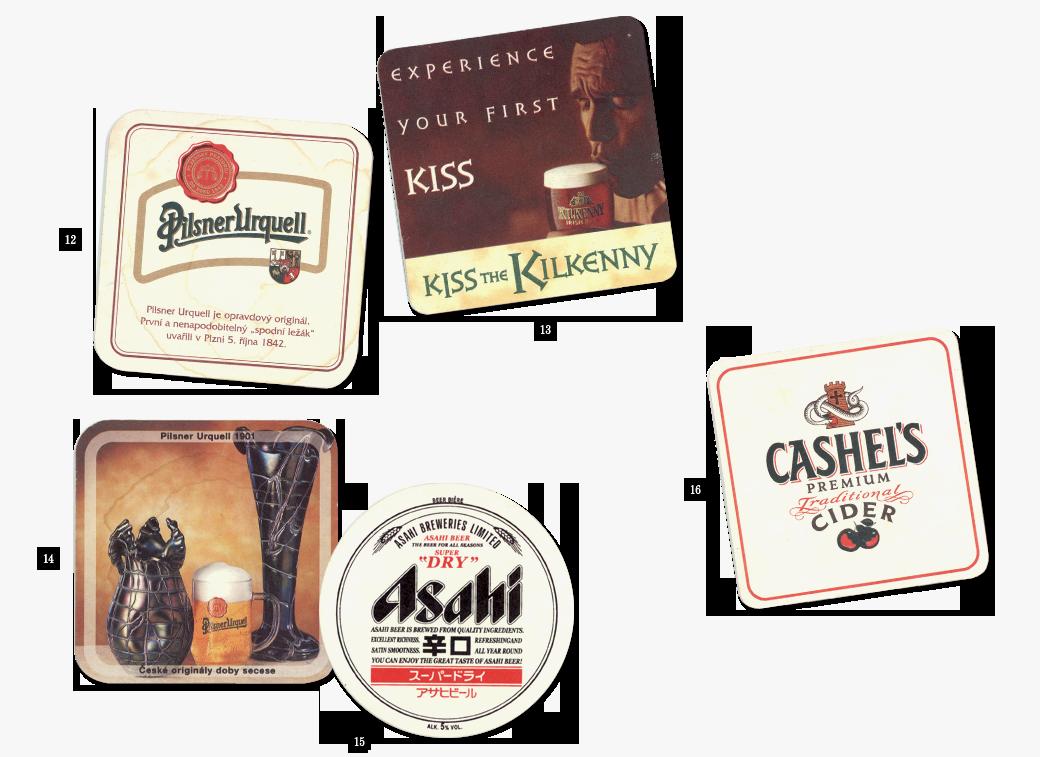 Коллекция бирдекелей: Избранные подставки под пиво дизайнера Никиты Трепцова. Изображение № 7.