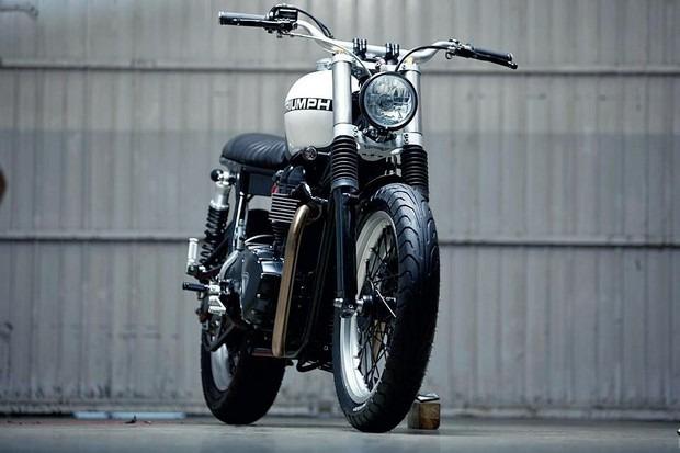 Испанская мастерская Kiddo Motors представила кастом модели Triumph Thruxton. Изображение № 6.
