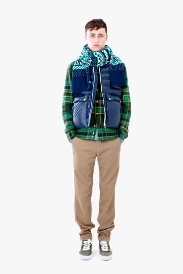 Марка Lacoste выпустила осеннюю коллекцию одежды линейки L!VE . Изображение № 10.