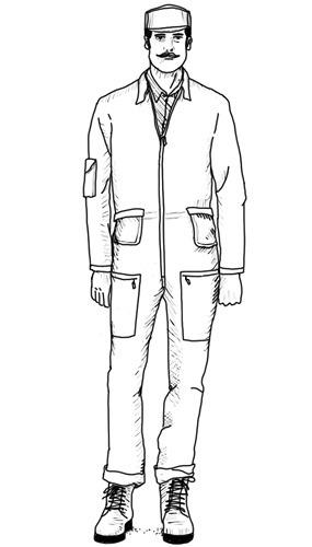 Рабочий вариант: Как носить и выбирать комбинезоны. Изображение № 8.