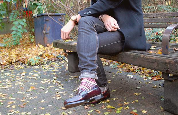 Как правильно носить лоферы с носками?. Изображение № 4.
