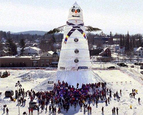 Что ты лепишь: Альтернативные снеговики со всего мира. Изображение №10.