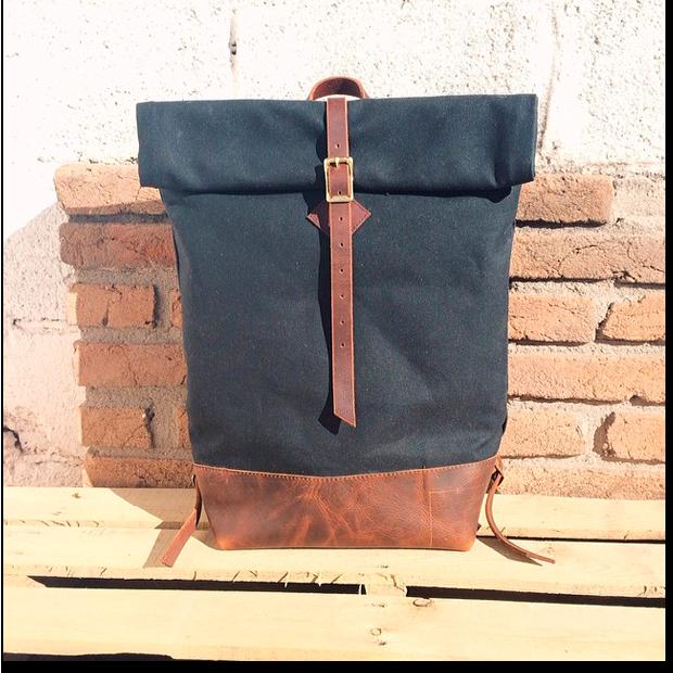 Ручная работа: Самодельный рюкзак BZL Leather. Изображение № 1.