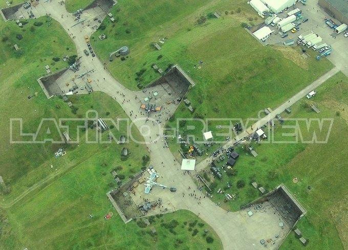 Дрон сделал фото военной базы со съёмок «Звёздных войн» . Изображение № 1.