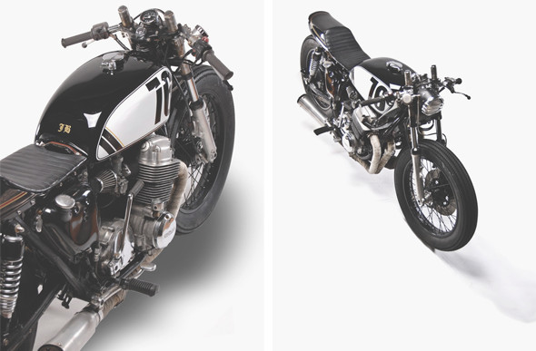 Новый каферейсер Honda CB750 мастерской Motohangar. Изображение №3.