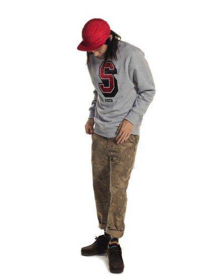 Марка Stussy выпустила осенний лукбук с участием рэпера A$AP Illz. Изображение № 15.