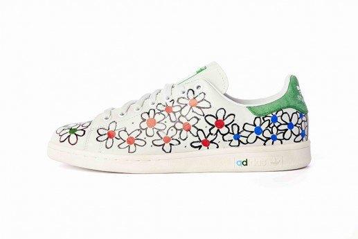 Adidas выпустит коллекцию кроссовок Stan Smith, вручную разрисованных Фарреллом. Изображение № 4.
