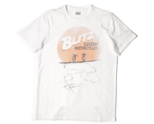 Мастерская Blitz Motorcycles и марка Edwin представили совместную коллекцию одежды. Изображение № 6.
