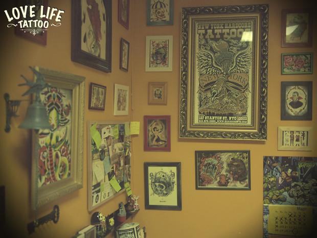Репортаж из нового помещения Love Life Tattoo. Изображение № 6.