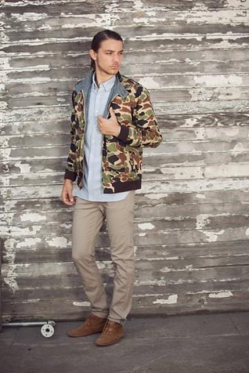 Марка Obey выпустила лукбук весенней коллекции одежды. Изображение № 18.