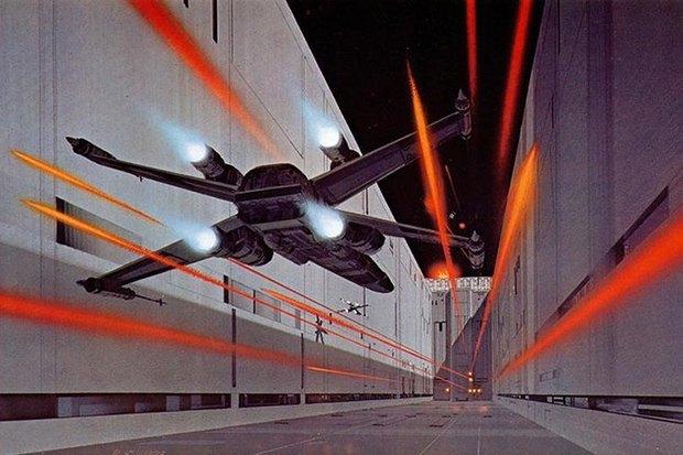 В сети появился оригинальный концепт-арт «Звёздных войн». Изображение № 12.