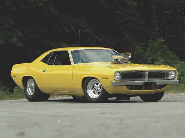 Компания Chrysler перевыпустит культовый маслкар Plymouth Barracuda. Изображение № 1.
