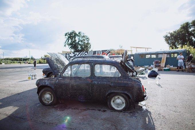 Фоторепортаж: Строительство объектов фестиваля Outline. Изображение № 56.