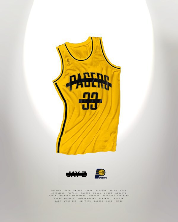 Канадский дизайнер представил, как бы выглядела форма NBA в исполнении культовых брендов. Изображение № 7.