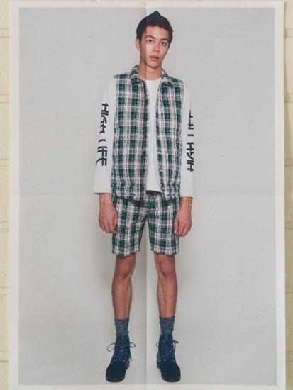 Японская марка Discovered выпустила лукбук весенней коллекции одежды. Изображение № 2.