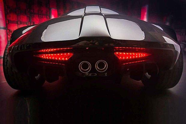 На Comic Con показали автомобиль Дарта Вейдера. Изображение № 3.