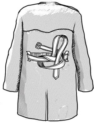 Совет: Как завязывать пояс на тренче. Изображение № 4.