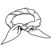 Как выбрать и правильно повязать шейный платок. Изображение № 3.